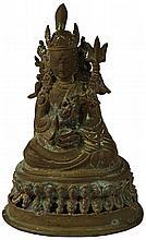 Bronze Figure of Hanuman