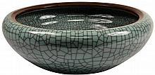 Celadon Crackle Glaze Bowl