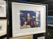 BRETT WHITELEY decorative print -