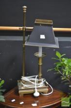Brass Bedside Lamp