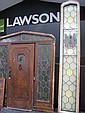 Large Federation Leadlight Door Frame and window