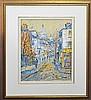 Doreen Gadsby (1926 -) - Street Scene 45 x 35cm, Doreen Gadsby, Click for value