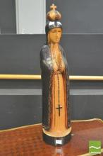 Carved Religious Statue