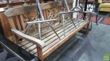 Teak Outdoor Bench Seat