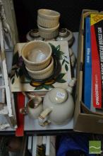 Denby Tea Service with Other Ceramics
