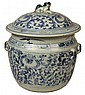 19th Century Chinese Covered Food Jar