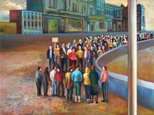 Terry Matassoni (1959 - ) - Crowd, 2007 76 x 101.5 cm (frame: 79 x 104 x 5 cm)