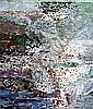 LIZ CUMMINGS (born 1934) - Harbour at Drummoyne oil on canvas, Elisabeth Cummings, Click for value