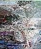 LIZ CUMMINGS (born 1934) - Harbour at Drummoyne oil on canvas, Elisabeth Cummings, Click for value