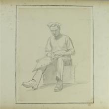 Norman Little WW1 Sketchbook Album