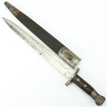 WW1 Sanderson Sheffield Bayonet in Scabbard