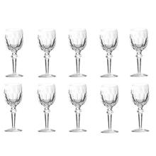 Waterford Crystal 'Curraghmore' Set of Ten White Wine Glasses