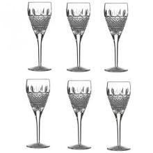 Waterford Crystal 'Irish Lace' Set of Six Wine Glasses