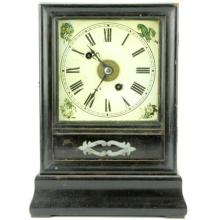 Winterhalder & Hofmeier Schwaerzenbach Black Forest Mantle Clock