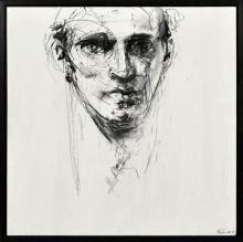 Craig Ruddy (1968 - ) - Daydream, 2007 60 x 60cm