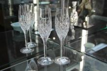 Stuart Crystal Pair of Champagne Flutes