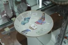 Chinese Fine Painted Dish Marked to Base