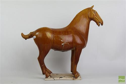Glazed Tang style horse- Damaged