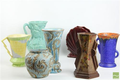 Hand Crafted Pottery Collection inc Diana, Greek and English Examples
