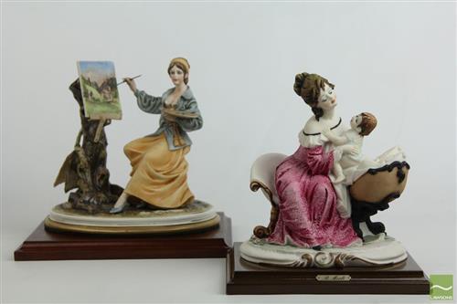 Italian Ceramic And Resin Figures