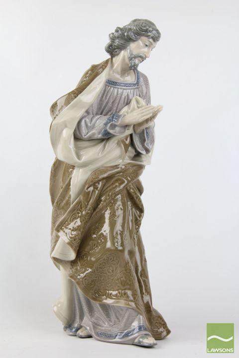 LLadro Figure Possibly Of Joseph Crane