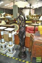 Lady Figure Floor Lamp