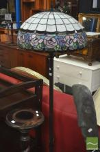 Leadlight Shade Standard Lamp