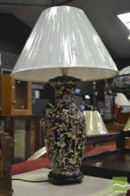 Pair of Chinese Museum Replica Table Lamps (4203)