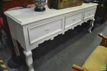 French Style Sideboard with Three Drawers
