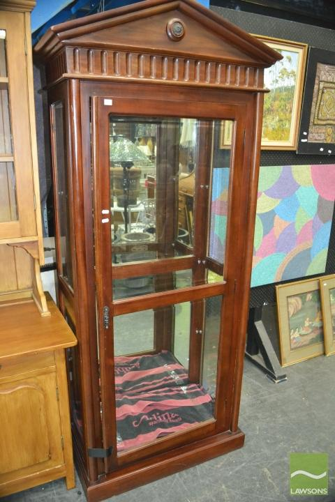 Empire Style Display Cabinet With 3 Glass Shelves Small Cr