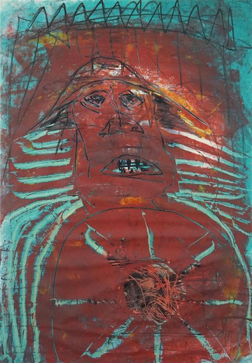 Mark Davis - Untitled, 2004 96.5 x 68cm