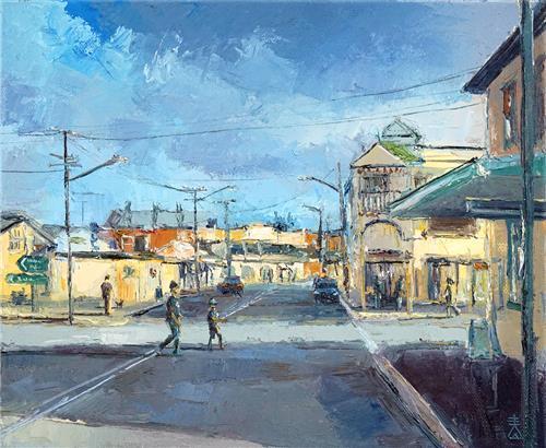 Dusan Milobabic - The Corner Shop 30 x 25 cm