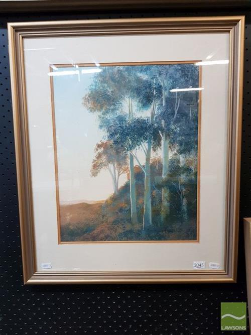 T Francis Johnson - Touch of Summers Light 60.5 x 51cm