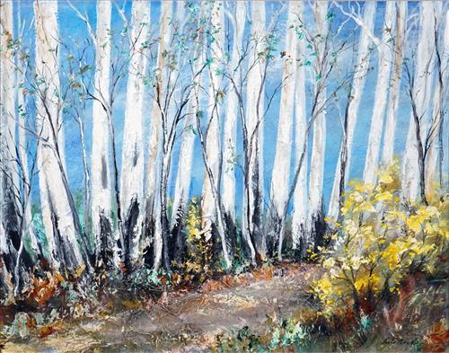 Essie Nangle (1915 - 2006) - Mountain Trail 58 x 75cm