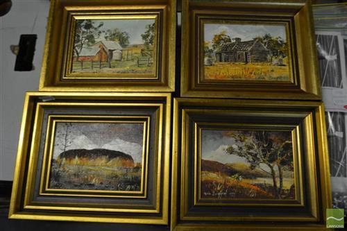 Collection of 4 Artworks by Karin Burggraf