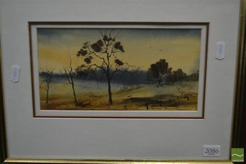 Gary Baker - Dryland 12.5 x 25cm