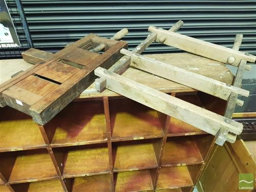 Two Old Timber Clamps