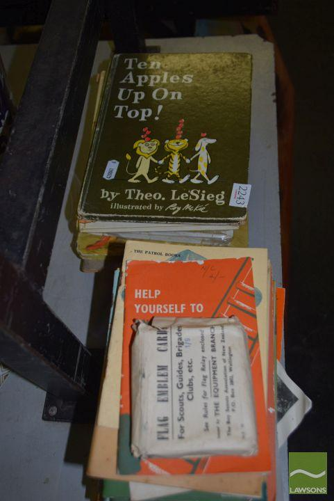 Group of Children's & Scout Books