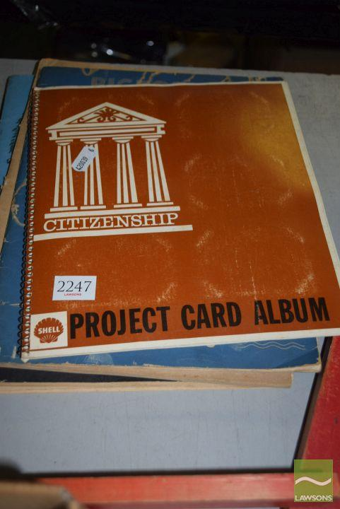 5 Volumes of Vintage Children's Educational Books incl Project Cards