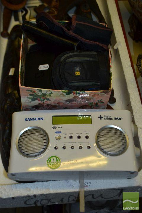 Collection of Electrical & Other Items incl Phones, Binoculars, Digital Radio etc