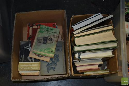 Box of Books mainly Music