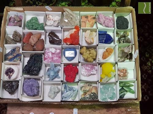 Collection of Mineral Crystals