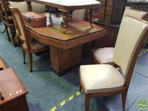 Art Deco 7 Piece Dining Suite