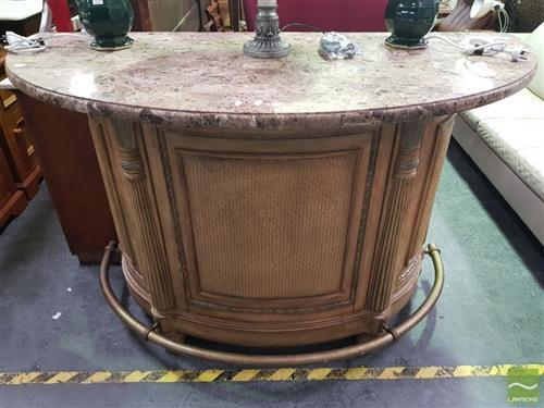 Marble Top Bar Unit