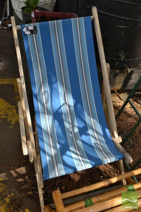 Timber Fold Out Deck Chair