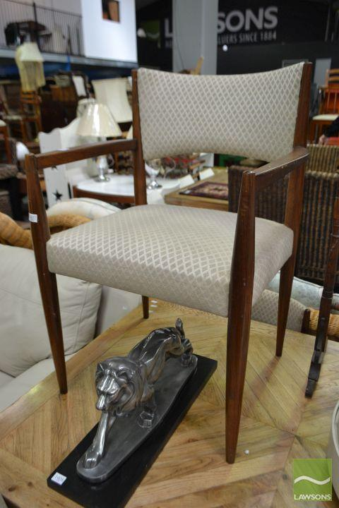 Set of Six Retro Chairs incl. Two Carvers