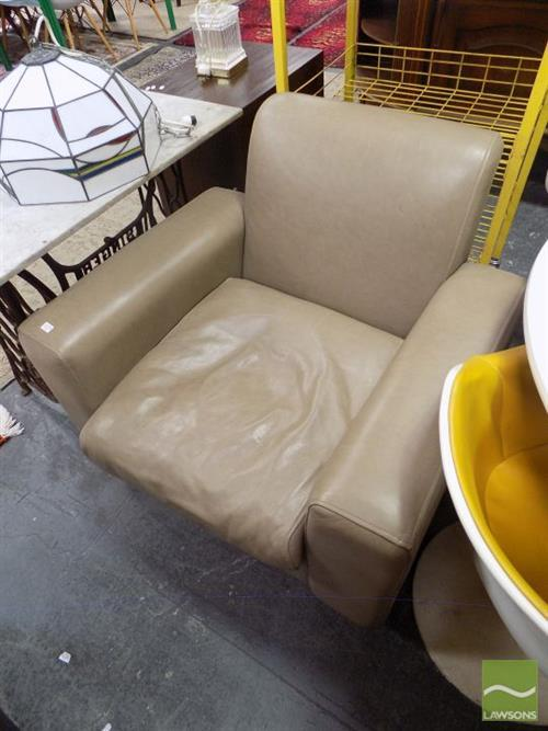 Country Road Leather Armchair