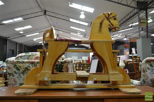 Slide Rocking Horse
