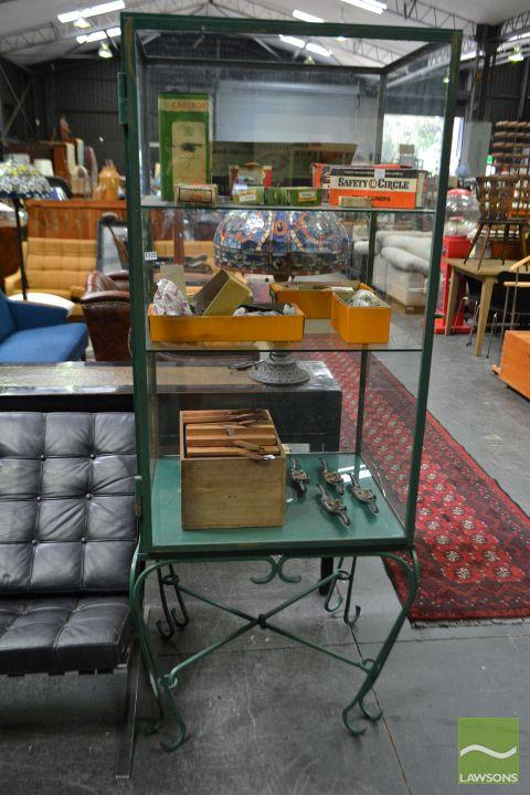 Glass Cabinet on Stand