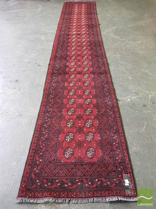 Afghan Turkoman Runner (476 x 80cm)